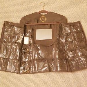 Joy Mangano Mirror 28 Pocket Organizer